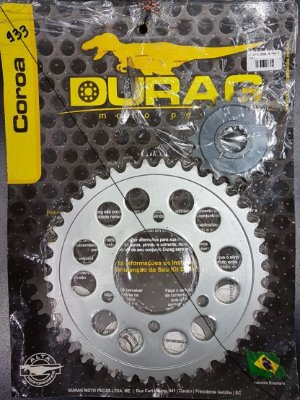 Kit Coroa/Pinhão Durag ZX10 2011