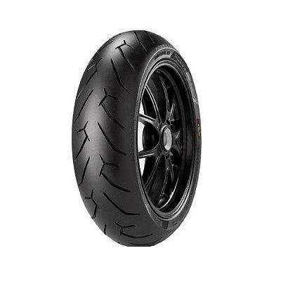 Pneu Pirelli Diablo Rosso II 190/55-17 75W Traseiro