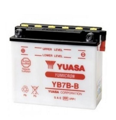 Bateria Yuasa Yb7B-B 7Ah XR200 CBX200 NX350 XT225 NEO125