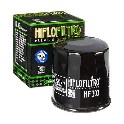 Filtro De Oleo Hiflofiltro HF303 Ninja300 ZX6 ZX10 Z750 Z800