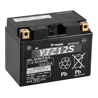 Bateria Yuasa Ytz12S Shadow750 XVSMidnight NC700