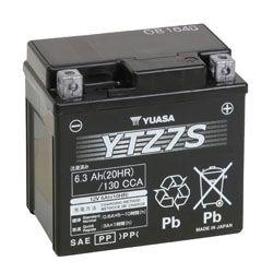 Bateria Yuaza YTZ7S CBR1000 PCX150