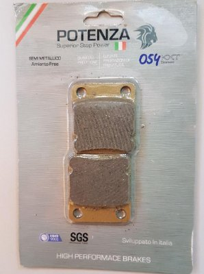 Pastilha de Freio Potenza PTZ054 KXT Semi-Metálica GG