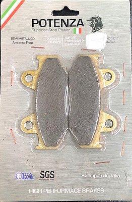 Pastilha de Freio Potenza PTZ323 KXT Semi-Metálica GG
