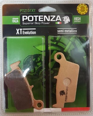 Pastilha de freio Potenza PTZ131 XT Semi-Metálica GG