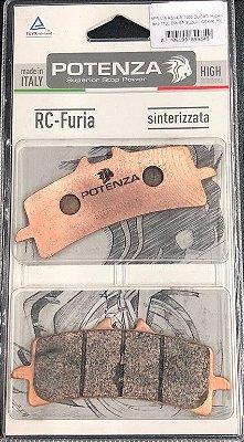 Pastilha de Freio Potenza PTZ900 RC Sinterizada HH