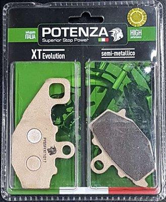 Pastilha de Freio Potenza PTZ192 XT Semi-Metálica GG