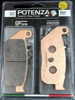 Pastilha de Freio Potenza PTZ521 GP Sinterizada HH