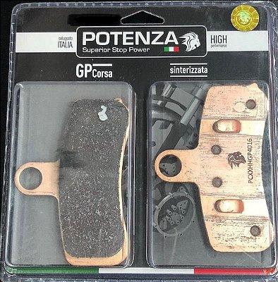 Pastilha de Freio Potenza PTZ525 GP Sinterizada HH
