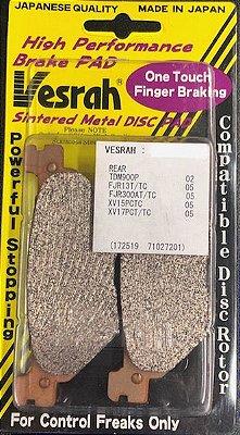 VD269/2 PASTILHA DE FREIO GG SEMI-METALICA ORGANICA