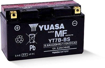 Bateria Yuasa Yt7B-Bs 6.5Ah Panigale1199 DR400 Daytona675