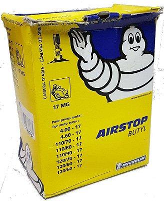 Câmara De Ar Michelin 17MG Aro 17 Traseira Bros125 Bros150