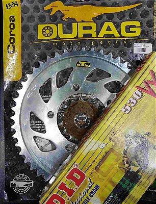 Kit Completo Transmissão Durag DID GSF600 GSF1250S Bandit 2000-2004