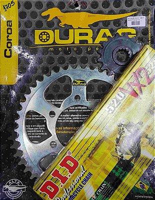 Kit Completo Transmissão Durag DID ZX6R Ninja 2007-2014