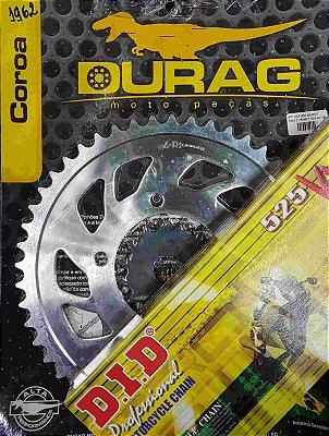 Kit Completo Transmissão Durag DID GSF650 Bandit 2007-2009