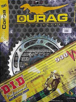 Kit Completo Transmissão Durag DID CBR1000 Fireblade 2008-2009