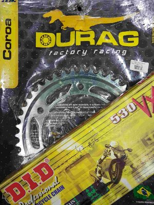 Kit Completo Transmissão Durag DID CBR1000 Fireblade 2002-2004