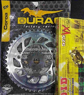 Kit Completo Transmissão Durag DID DL650 Vstrom 2004-2009