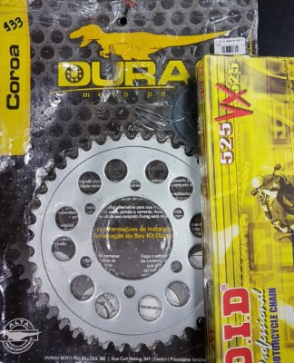 Kit Completo Transmissão Durag DID ZX10 2011