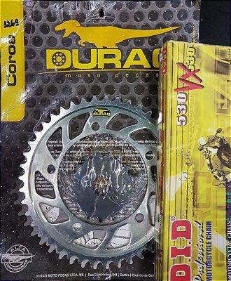 Kit Completo Transmissão Durag DID GSXR1000 2007-2008