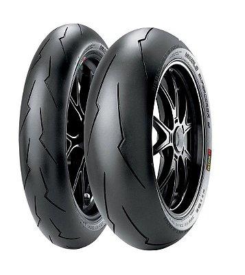 Combo/Par Pneus Pirelli Supercorsa Spv2 120/70-17 + 200/55-17