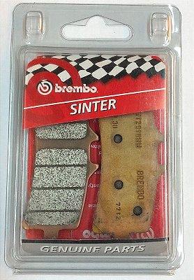 07BB3793 Pastilha de freio Brembo Original Dianteira
