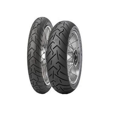Par Pneus Pirelli Scorpion Trail II 110/80-19+140/80-17