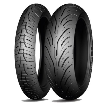 Par Pneus Michelin Pilot Road 4 GT 120/70-17+190/55-17