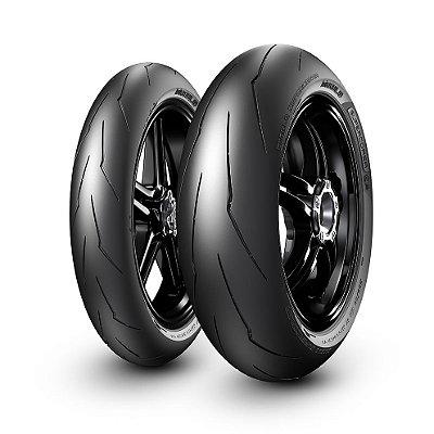 Par Pneus Pirelli Supercorsa 120/70-17 SPV3 + 190/55-17 SPV2