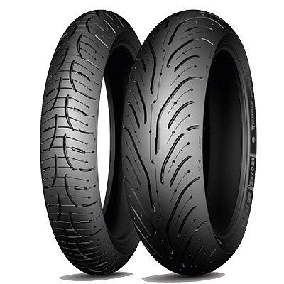 Par Pneus Michelin Pilot Road 4 GT 120/70-17+180/55-17
