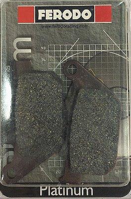 FDB2180P Pastilha de Freio Ferodo Orgânica Custom