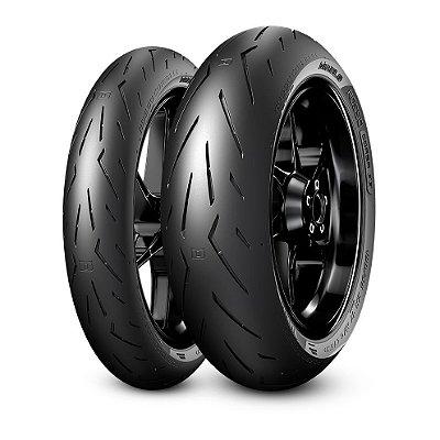 Par Pneus Pirelli Rosso Corsa 2 120/70-17+200/60-17