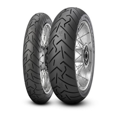 Par Pneus Pirelli Scorpion Trail II 120/70-17+190/55-17