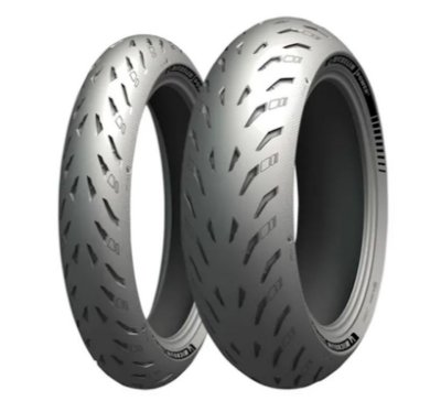 Par Pneus Michelin Power 5 120/70-17+200/55-17