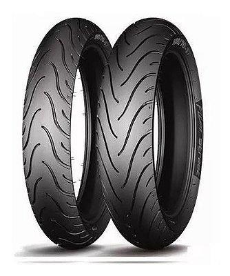 Par Pneus Michelin Pilot Street Radial 120/70-17+180/55-17