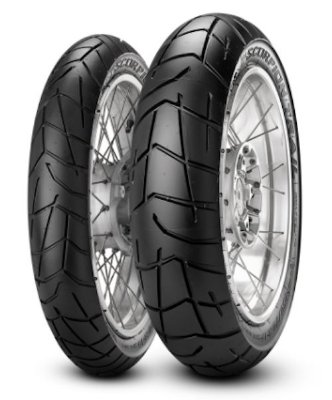 Par Pneus Pirelli Scorpion Trail I 100/90-19+130/80-17