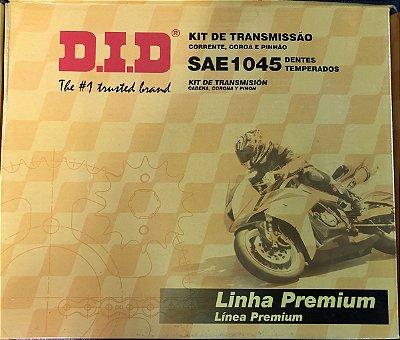 Kit Transmissão Did Titan 125 FAN 00-08 -44/14T- 428HS-116L s/ retentor