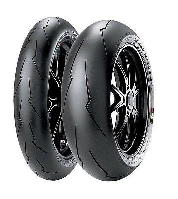 Par Pneus Pirelli Supercorsa SPV3 120/70-17+200/60-17