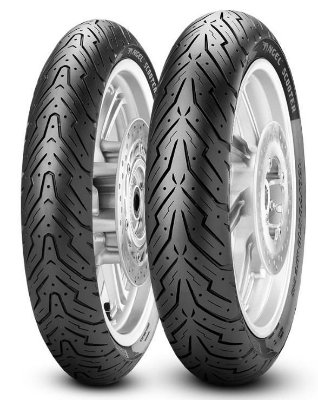 Par Pneus Pirelli Angel Scooter 90/90-12+100/90-10