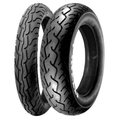 Par Pneus Pirelli MT66 Route 90/90-19+150/90-15 mais largo