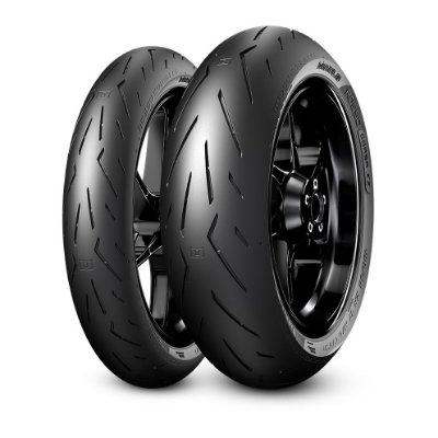 Par Pneus Pirelli Rosso Corsa 2 120/70-17+160/60-17