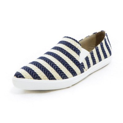 Tênis Slip-on Navy Bico Fino