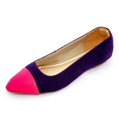 Sapatilha Violeta com Pink