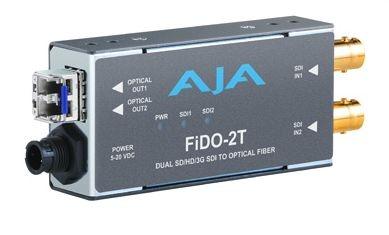 CONVERSOR FIDO-2T DUAL OPTICAL FIBER SH/HD/3G SDI AJA