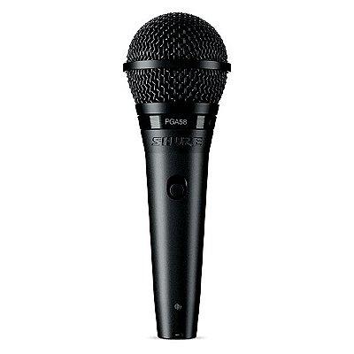 Microfone de mão com fio PGA58-XLR - Shure