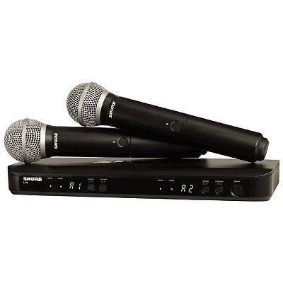 Microfone de mão sem fio BLX288/PG58 - Shure