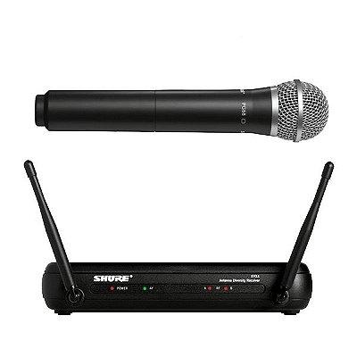 Microfone de mão sem fio SVX24BR/PG58 - Shure