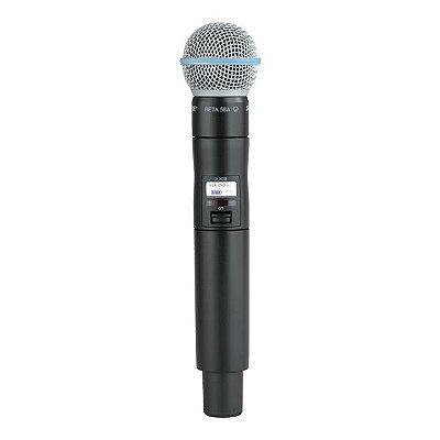 Microfone de mão sem fio UR4+ / UR2 BETA58A - Shure