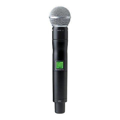Microfone de mão UR2/SM58 - Shure