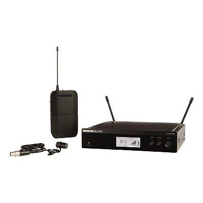 Microfone de lapela BLX14R/W85 - Shure